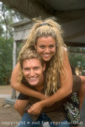 Bridie Carter & Brett Tucker