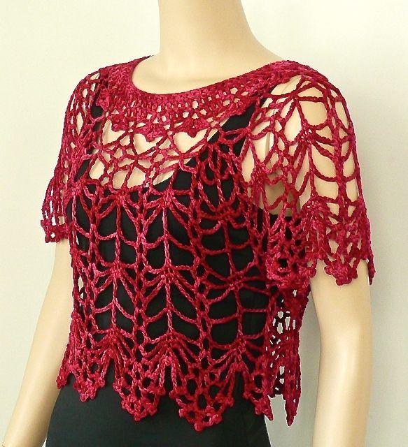 Blusa calada. / Design by Doris Chan