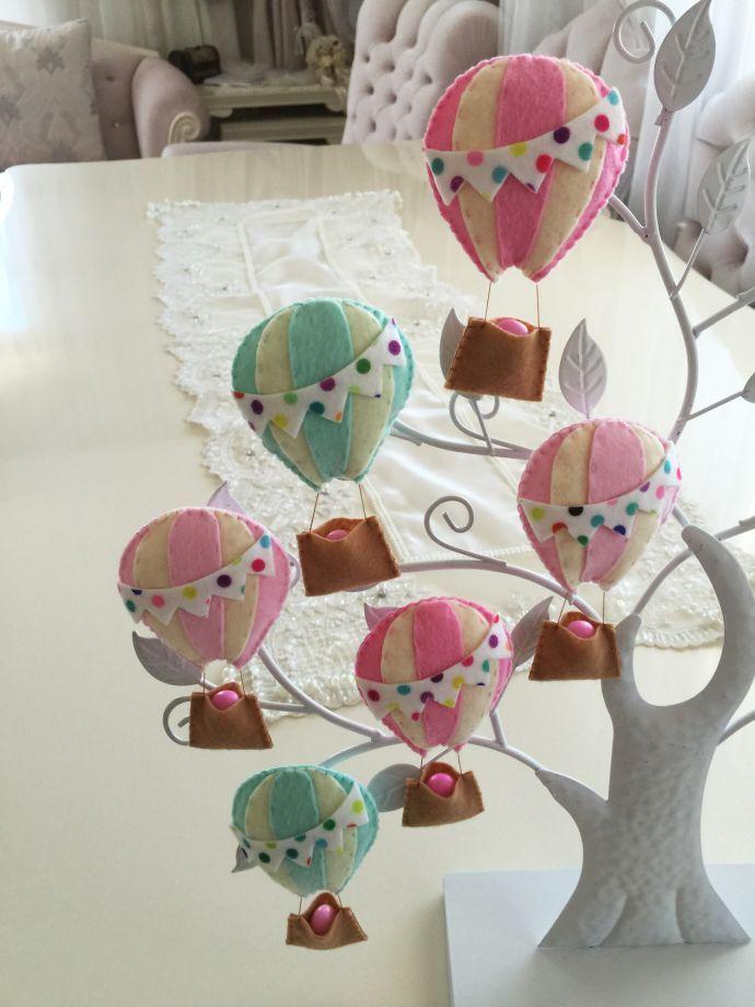 'Uçan balon şeklinde keçe bebek şekeri'. 264813   zet.com