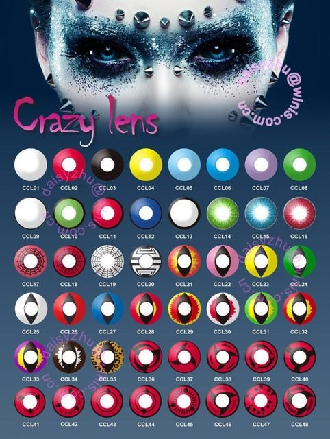 Look what I found Via Alibaba.com App: - Vampire Red wholesale halloween contacts imported from korea sharingan cosplay halloween crazy contact lenses