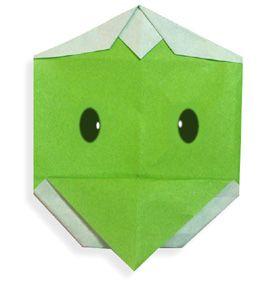 Origami Capa face