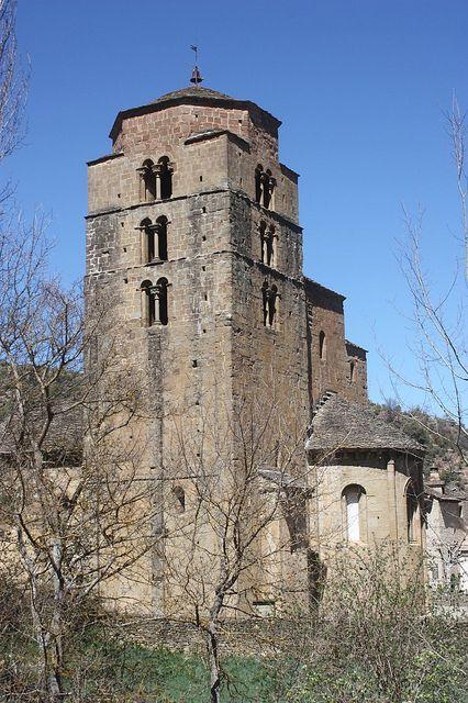 Santa María, Santa Cruz de la Serós (Huesca, Spain).Románico