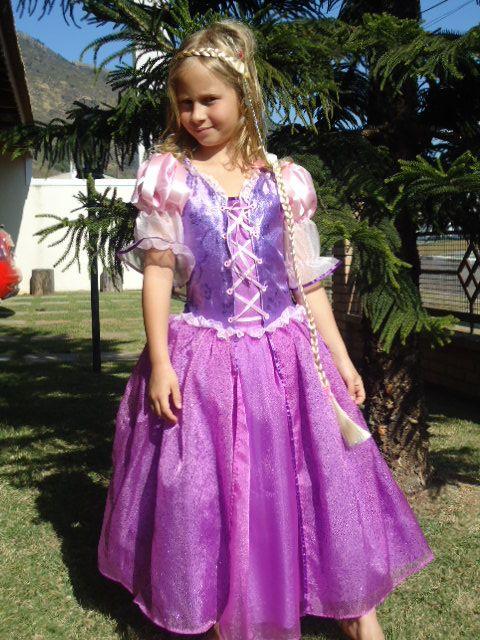 Vestido rapunzel Disney - Imagui