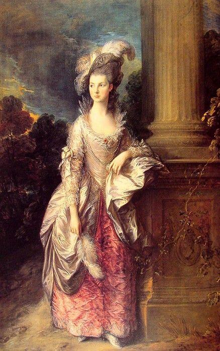 Портрет миссис Грэхем, 1777. Томас Гейнсборо