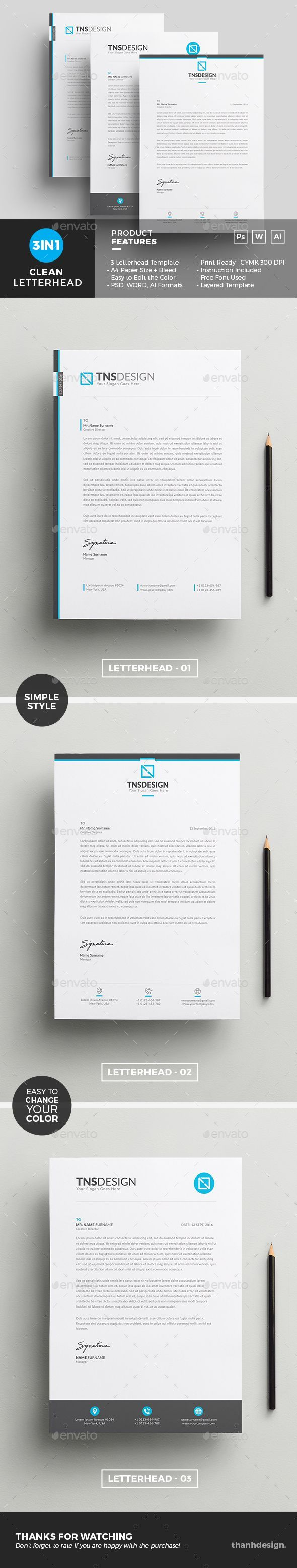 Business Letter Templates Word%0A Letterhead Template