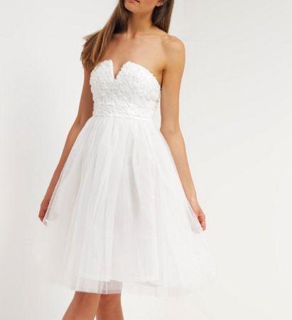 Rare London Sukienka koktajlowa white