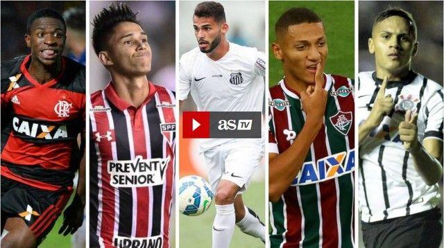 Com Vinicius Junior e dois do Flu jornal espanhol destaca 10 jovens do Brasileirão