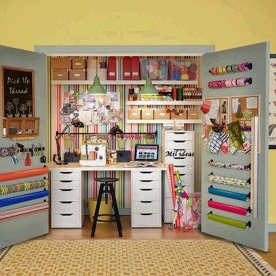 craft closet design ideas - Google Search