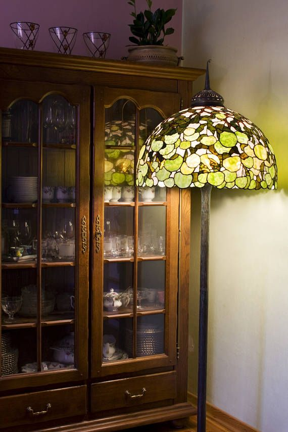 Office Stained Glass Lamp Floor Lamp Senior Lamp Stylish