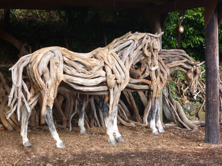 Unique 67 best Drift wood Horse Sculptures images on Pinterest  UG82