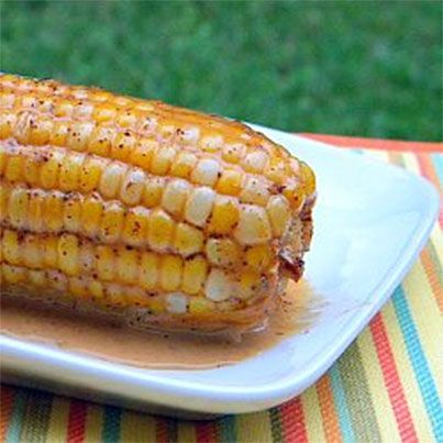 Oven Roasted Corn in Chile Coconut Milk | Food Recipes | Pinterest