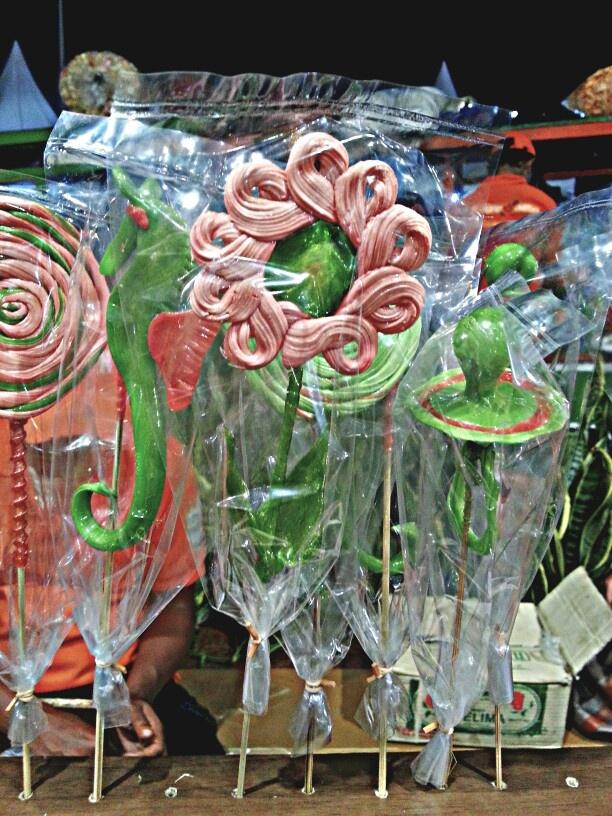 Gulali made from sugar