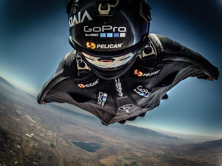 Wing suit flying - #wingsuit