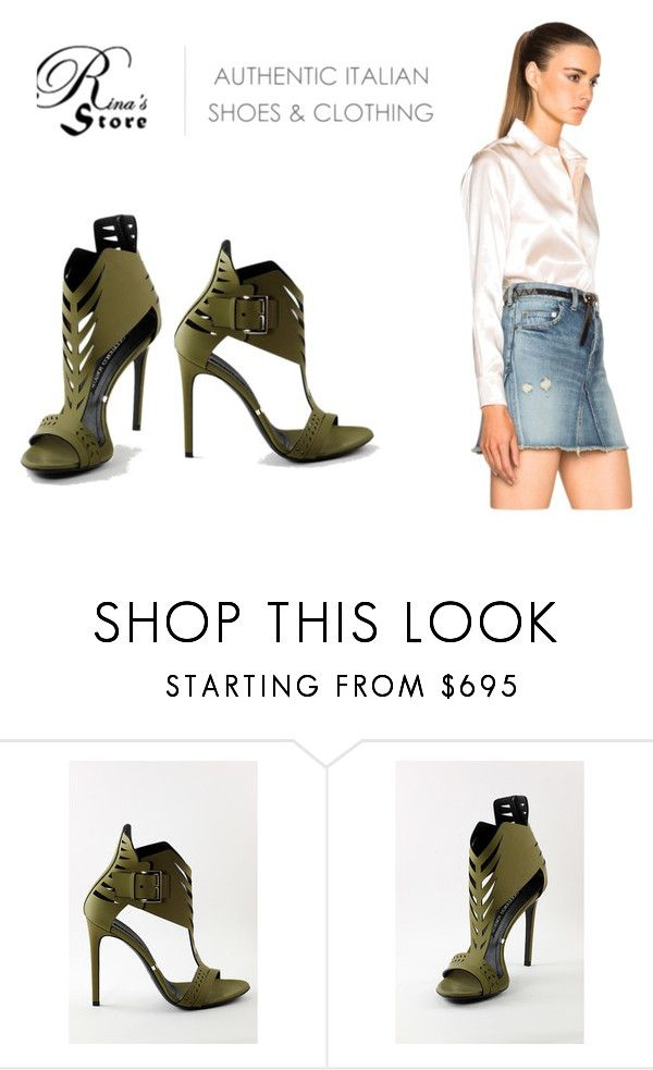 """""""Gianmarco Lorenzi sandals by Rina's store"""" by rinasboutiquee ❤ liked on Polyvore featuring Gianmarco Lorenzi, Yves Saint Laurent, canada, footwear, madeinItaly, rinashoes and italiandesignershoes"""