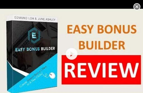 Easy Bonus Builder. Get It Here https://www.youtube.com/watch?v=nwqMLuWRZsc  #easybonusbuilder #easybonusbuilderreview