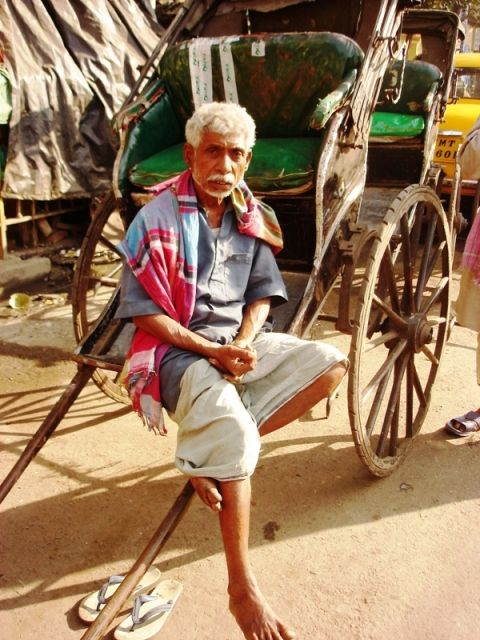 how to build a hand pulled rickshaw