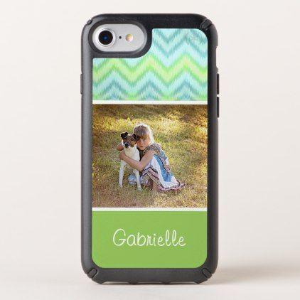 Custom Artsy Modern Trendy Hip Zig Zag Pattern Speck iPhone Case - photo gifts cyo photos personalize