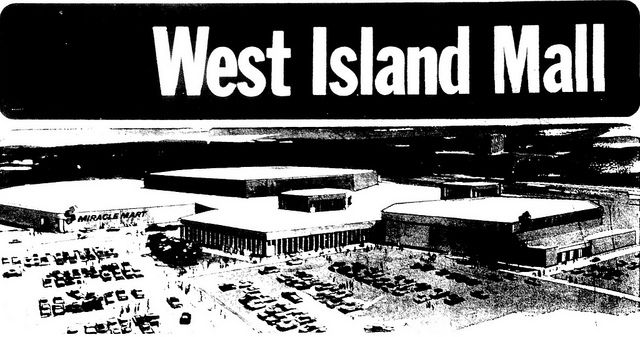 "Now named ""Galeries des Sources"" this is the original ""West Island Mall"" built in 1966 for Steinberg's and Miracle Mart. Today, part of the Steinberg was torn down by Canadian Tire (moved in 1985...) and Miracle Mart became the ""Cinema Guzzo"" movieplex..."