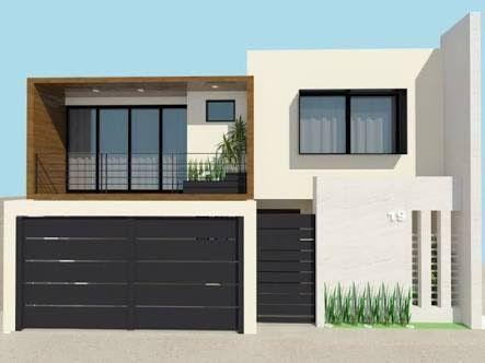 Resultado de imagen para casas minimalistas fachadas 2015 pequeñas modernas #casasminimalistasinteriores