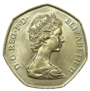 Coins Numismatics   World Coins Museum   Gold Coins   Silver Coins, Coin Collecting as an Investment: British Coins 50 Pence 1973 United Kingdom entry into the European Economic Community