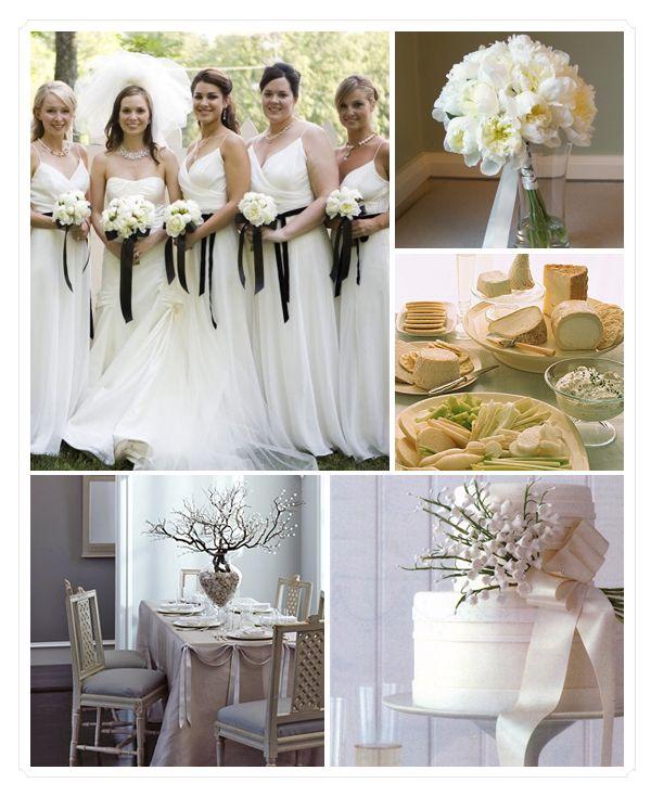Ask Cynthia All White Weddings