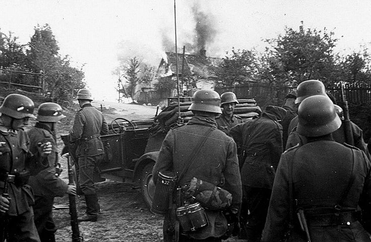 WEHRMACHT soldiers (army): Poland 1939