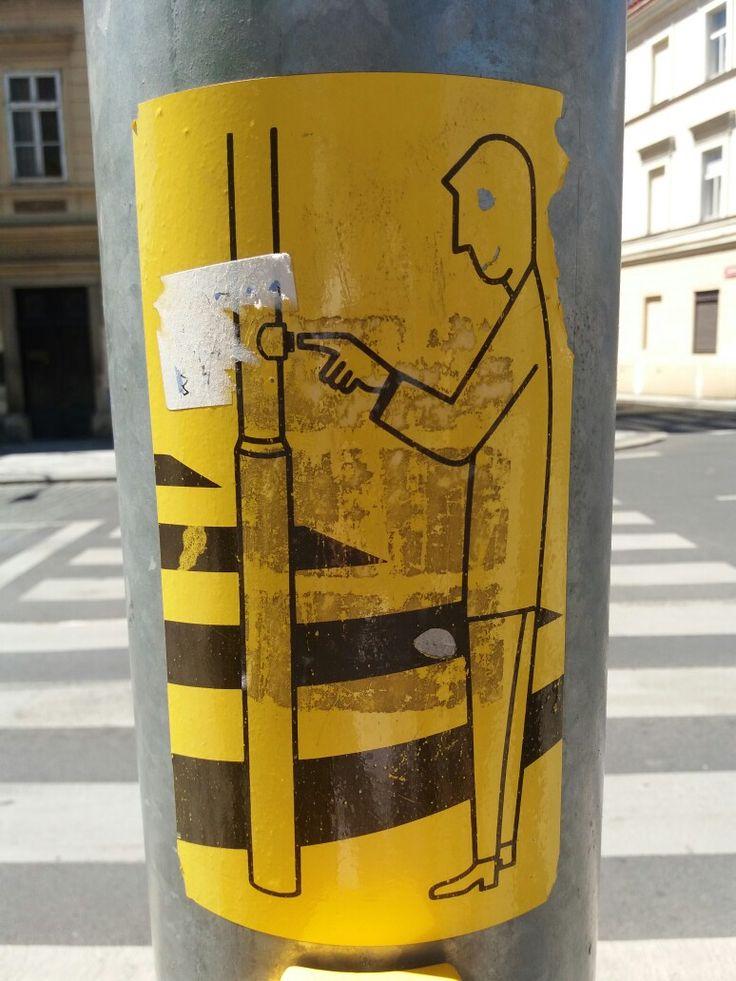 Czech traffic light sign