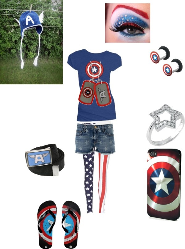 Captain America Avengers outfit