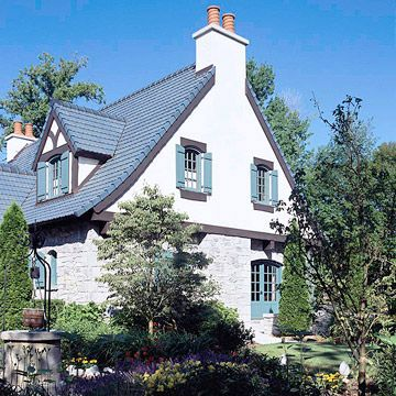 The 25 best ideas about stucco siding on pinterest for Cottage siding