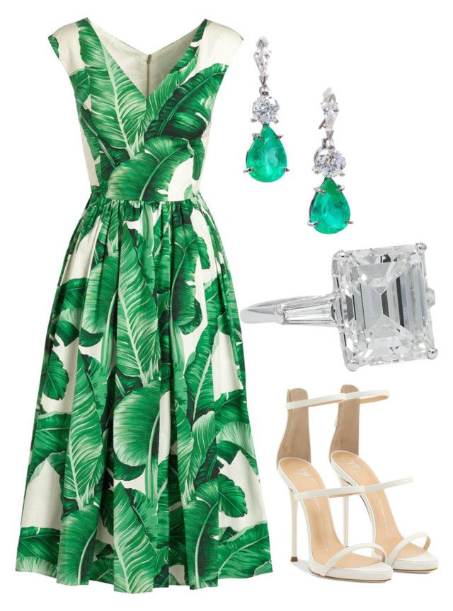 """Без названия #2733"" by claire-hamilton-bristol ❤ liked on Polyvore featuring Dolce&Gabbana and Giuseppe Zanotti"