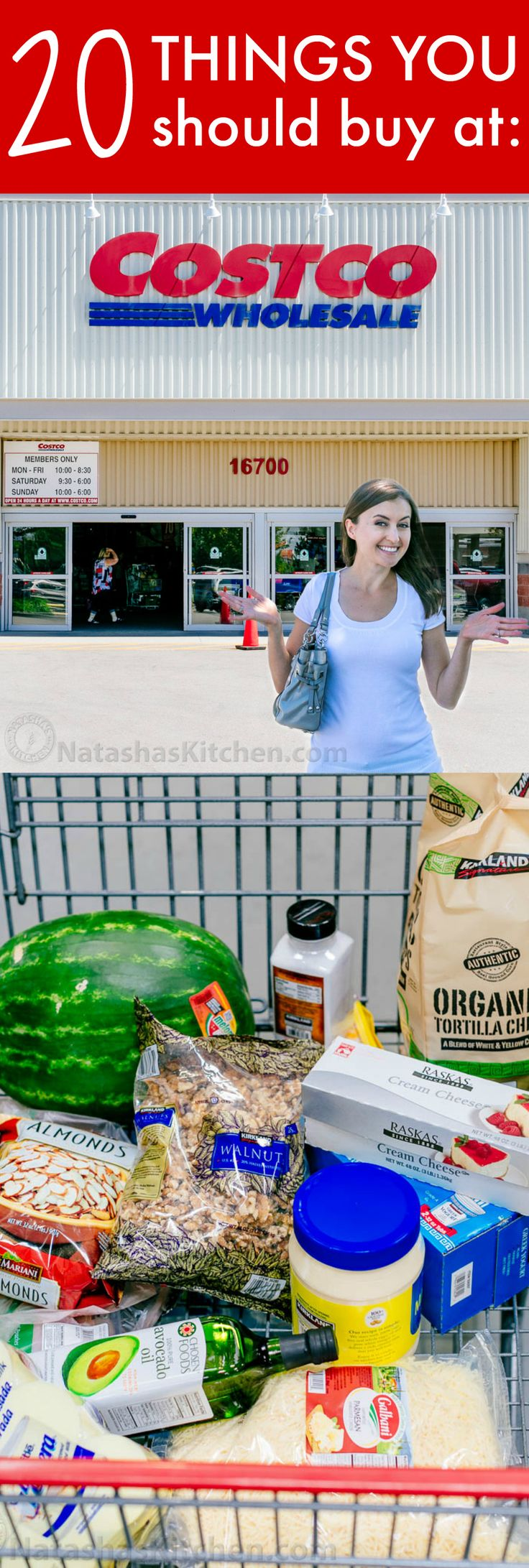 Below is a list of 20 things that we always buy at Costco. We love the quality…