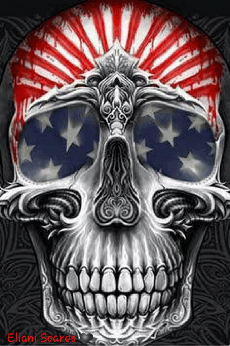 Animated Photo | Gif skulls | Skull art, Skull, Skull ...