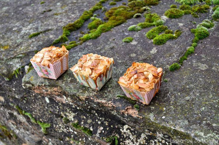Laskominy od Maryny: Hruškové muffiny s brusinkami a krokantem