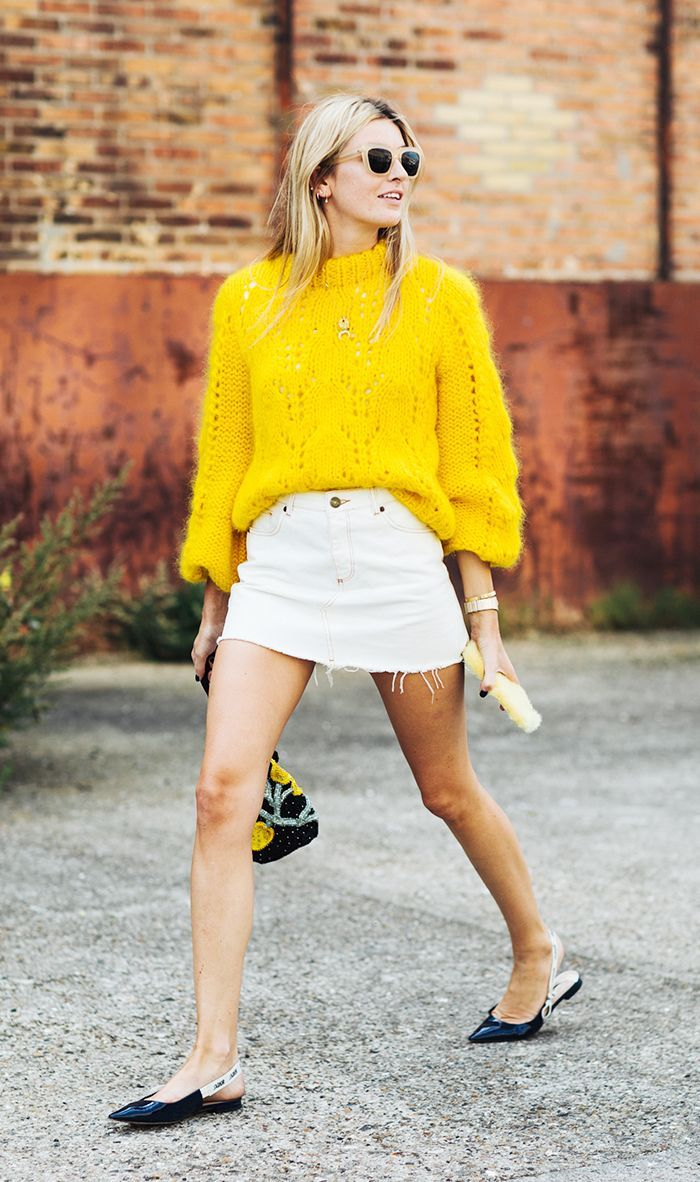 Still 70 degrees outside? Here are 10 stylish outfits to wear now, plus our favorite warm-weather pieces to shop now.