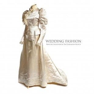 The Charleston Museum's Historic Textiles Collection contains a remarkable assortment of wedding attire and accessories, most of which relates directly to South Carolina and the Lowcountry. This collection includes over 80 gowns, dating from the early nineteenth to the late twentieth centuries, as well as veils, shoes, fans, and men's attire.