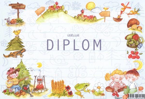 Diplom A5 tábornický – Knihkupectví Neoluxor