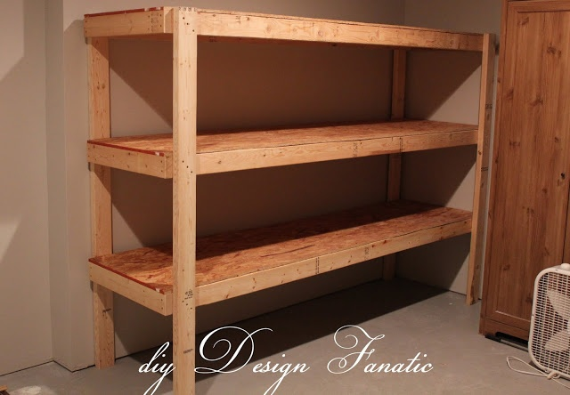diy Design Fanatic: DIY Storage ~ How To Store Your Stuff ...love how this unit was put together!!! something even I could do!