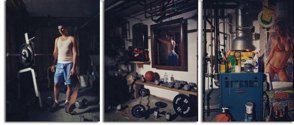 David Hilliard - weight room - secret room - smell sweat pinups