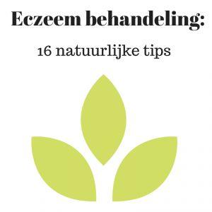 Eczeem behandeling: 16 natuurlijke tips