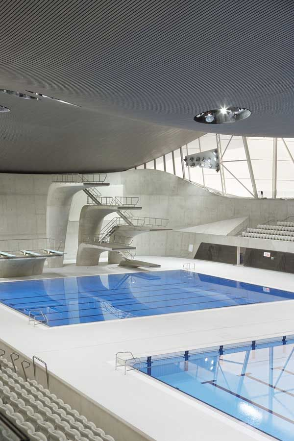 A Look At The Olympic Aquatic Center Designed By Zaha Hadid