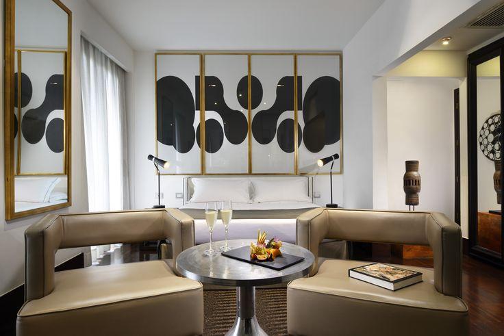 Junior Suite - Hotel Pulitzer Roma #hotel #Roma #hotelroom
