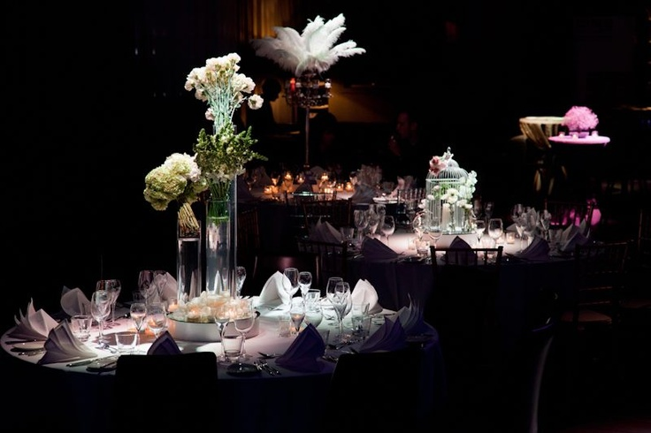 Table Decor at Showtime Events Centre