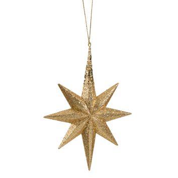 Goldener Glimmer-Stern