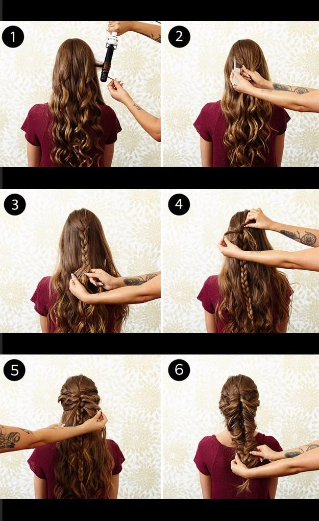how to make a french braid step by step video