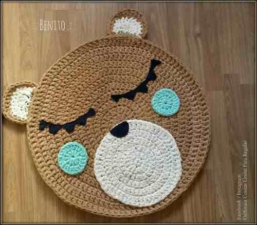 Las 25 mejores ideas sobre alfombra tejida en pinterest y for Alfombras de pompones infantiles