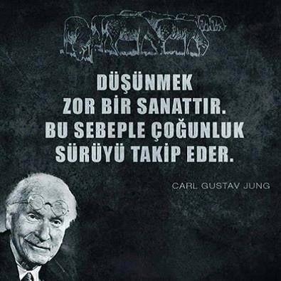 #sürü #düşünmek Carl Gustav Jung