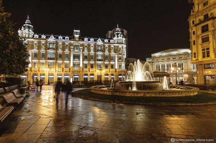 Plaza de la Escandalera #Oviedo #ciudades #cities #Asturias #ParaísoNatural #NaturalParadise #Spain