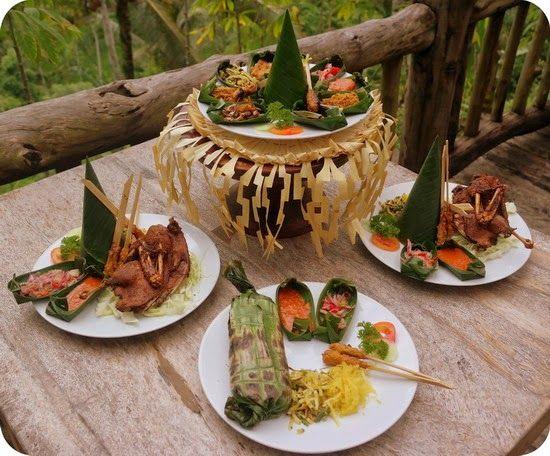 Menu Makanan d'Alas Ubud