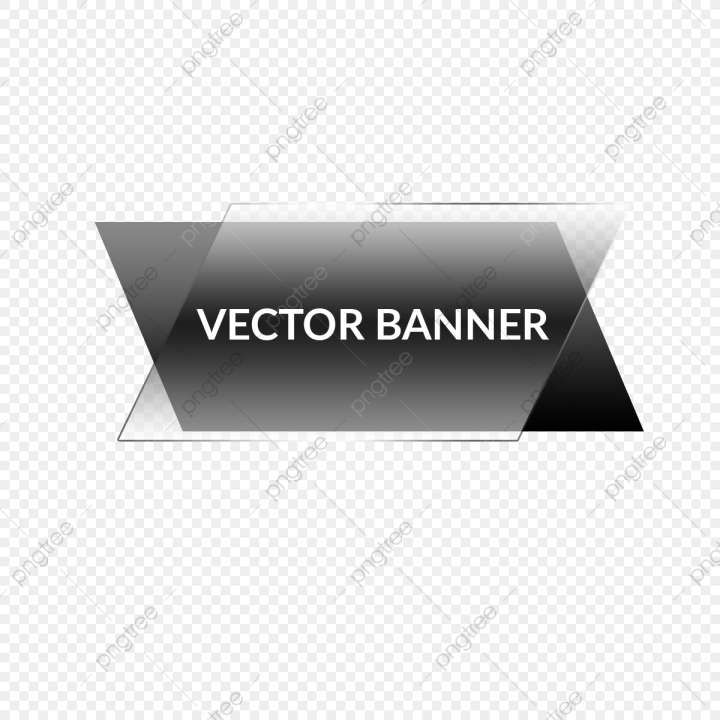 18 Black Text Box Png Png Drawing Com Banner Design Banner Vector