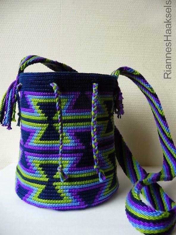 Mini Wayuu mochila <3